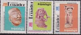 Ecuador Archeologia Archeology Arqueologia Set MNH - Archeologia