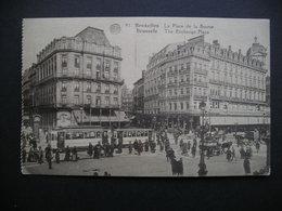Bruxelles La Place De La Bourse 1930 - Belgium