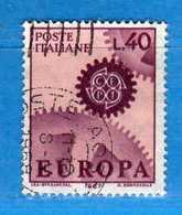 Italia °- 1967 - EUROPA.  Unif. 1038.  Vedi Descrizione. - 6. 1946-.. Repubblica