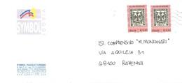 0,41 X 2 DUCATO DI MODENA SYMBOL VIAGGI RAVENNA - 6. 1946-.. Repubblica