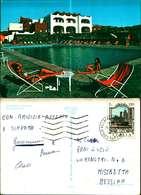 11486a) Cartolina  Messina-isole Eolie-arcipelago Hotel-f.to.oreste-ragusi-muggio' - Messina