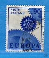 Italia °- 1967 - EUROPA.  Unif. 1039.  Vedi Descrizione. - 6. 1946-.. Repubblica