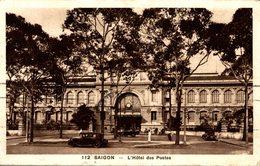 VIET-NAM  SAIGON  L'HOTEL DES POSTES - Viêt-Nam