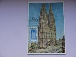 CARTE MAXIMUM CARD DOM IN KOLN ALLEMAGNE - [7] République Fédérale
