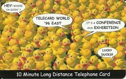 USA: Power TEL - TeleCard World '96 Exposition New York - Vereinigte Staaten