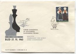 Chess Schach Ajedrez - Selection Tournament For World Championship 1965. Bled Slovenia - Slovénie