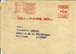 EMA Secap SC 0234 Flamme Muette 1945 Paris  A77/34 - Affrancature Meccaniche Rosse (EMA)