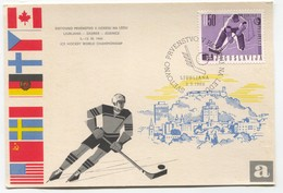Ice Hockey Eishockey - World Championship 1966. Ljubljana Slovenia - Slovénie