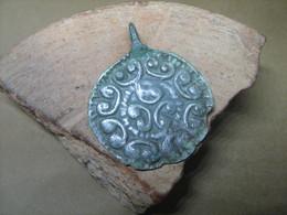 Ancient Viking Bronze Amulet 8-12 Centuries - Archéologie