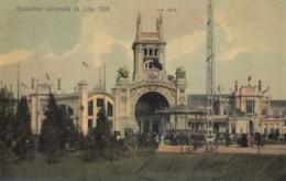 CPA - Liège - Exposition Universelle De Liège 1905 - Les Halls - Verso Logo De L'Expo. - Liege