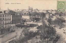 CPA - Liège - Place Du Théâtre - Liege