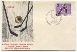 Ice Hockey Eishockey - World Championship 1966. Ljubljana Jesenice Slovenia - Slovénie