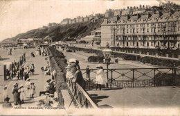 ANGLETERRE  MARINE GARDENS FOLKESTONE - Folkestone