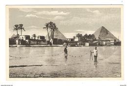 EGYPT CAIRO ARABERDORF BEI DEN PYRAMIDEN ÉGYPTE LE CAIRE VILLAGE ARABE PYRAMIDES - ÉDITION PORT SAÏD - NON CIRCULÉE - Pyramids