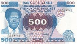 Uganda  500 Shillings N.d. Pick 22a  UNC - Ouganda