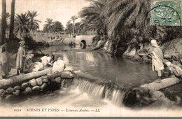 SCENES ET TYPES  LAVEUSES ARABES - Algérie