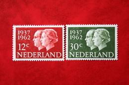 Zilveren Huwelijk Juliana En Bernard NVPH 764-765 (Mi 772-773); 1962 Ongebruikt / MH / * NEDERLAND / NIEDERLANDE - 1949-1980 (Juliana)