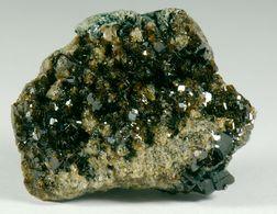 Mineral - Vesuvianite (Bellecombe, Aosta) - Lot. 5 - Minéraux