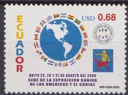 Ecuador - Correo 2000 Yvert 1507 ** Mnh Flags - Francobolli