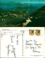 11484a) Cartolina  Isole Eolie-panorama Del Cratere-f.to.oreste Ragusi Muggio' - Messina