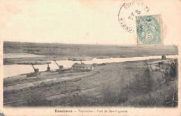 91 ESSONNES Papeteries Port De Bas Vignons (Etat) - Essonnes