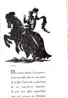 """Pub.1946  Armagnac CASTAGNON """"une Flamme Enchantée""""  Nogaro (Gers)  TBE - Publicités"""