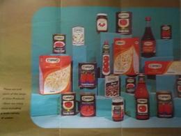 """Pieghevole Pubblicitario Inglese Illustrato  """"CIRIO""""  Anni '60 - Publicités"""