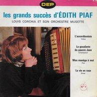 "Louis Corchia 45t. EP ""les Grands Succés D'edith Piaf"" - Instrumental"
