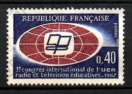 FRANCE. N°1515 Oblitéré De 1967. Radio Et Télévision. - Telecom