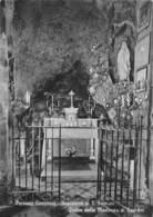 """07622 """"PERTUSIO CANAVESE - SANTUARIO DI SAN FIRMINO - GROTTA DELLA MADONNA DI LOURDES"""" CART. ORIG. NON SPED. - Churches"""
