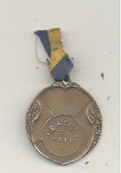 LUTTE - Médaille C.A.C.L. 1925 (b244) - Wrestling