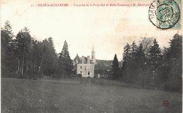 Carte  Postale  Ancienne De SILLE Le GUILLAUME - Propriété Belle Fontaine - Sille Le Guillaume