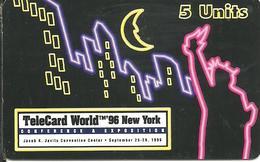 USA: MultiMedia Publishing - TeleCard World '96 Exposition New York. - Vereinigte Staaten