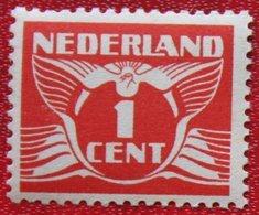 1 Ct Vliegende Duif Perf. 12 1/2  NVPH 170 A (Mi 172 A) 1926 POSTFRIS / MNH ** NEDERLAND / NIEDERLANDE - 1891-1948 (Wilhelmine)