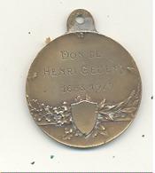 LUTTE - Médaille - Don De Henri GEVENS  16 Mars 1929 (b244) - Lutte (Wrestling)