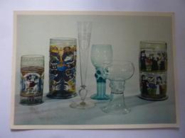 """Cartoncino """"THE TOLEDO MUSEUM OF ART GERMAND AND DUTCH GLASSES"""" Anni '60 - Vecchi Documenti"""