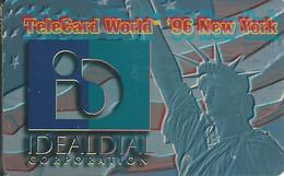 USA: IdealDial - TeleCard World '96 Exposition New York. - Vereinigte Staaten