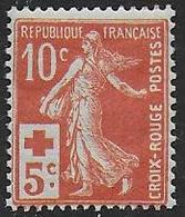 France - Croix Rouge N° 147  * *  - Cote : 100 € - France