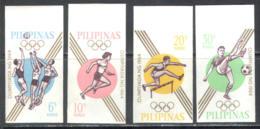 3156 ✅ Sport Olympic Games 1964 Philippines 4v Set MNH ** Imperf Imp - Sommer 1964: Tokio