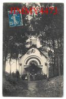 CPA - Chapelle Saint Louis, Entrée Bien Animée - SAINT BREVIN L' OCEAN 44 Loire Inf. -  N° 4170 - Recto-Verso - Saint-Brevin-l'Océan