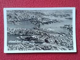 ANTIGUA TARJETA POSTAL CARTE POSTALE POST CARD POSTCARD AUSTRALIA SIDNEY N.S.W. NSW AEREAL VIEW VISTA AÉREA VER FOTO/S - Sydney