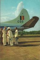CONGO - VOYAGE DU ROI - ETE 1955 - Case Reali