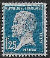 France - Pasteur N° 180  *   - Cote : 31 € - France