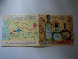 """Pieghevole Pubblicitario Ilustrato Plurilingue  """"QUINTA DE AVELEDA -CASAL GARCIA"""" Portogallo 1965 - Publicités"""