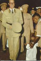 CONGO - VOYAGE DU ROI - ETE 1955 - Royal Families
