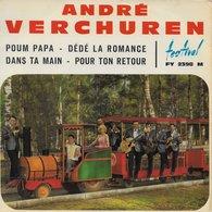 """André Verchuren 45t. EP """"poum Papa"""" - Instrumental"""