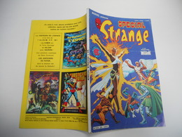SPECIAL STRANGE EDITION LUG N°38  LES X MEN L'ARAIGNEE  LA CHOSE BE++ - Special Strange