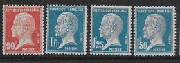 France - Pasteur N° 178 à 181 *   - Cote : 75 € - France