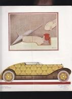 Automobile - Delaunay- Belleville - 3 Essais De Carrosserie Par Ruhlmann, C.Martin, Benito - Publicité