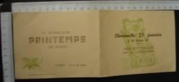 DH. 100. Carte D'invitation à La Salle Saint François à Ath Sur Un Film D'actualité En 1950 - Documents Historiques